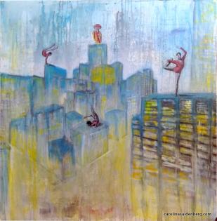 #233 contorcionistas 100x100 mista 2014
